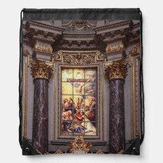 Kirchenaltar Altarpiece glassart Turnbeutel