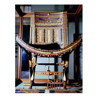 Kirchlicher Stuhl, vom Grab von Postkarte