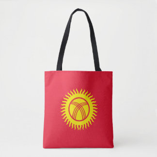 Kirgisistan-Flagge Tasche