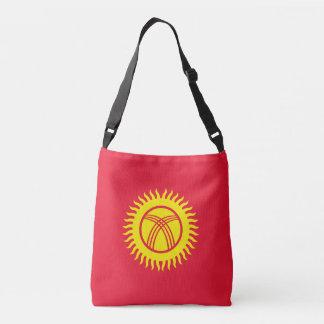Kirgisistan-Flagge Tragetaschen Mit Langen Trägern