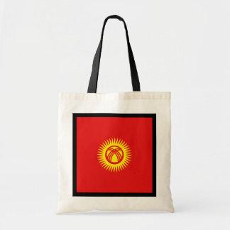 Kirgisistan-Flaggen-Tasche Tragetasche