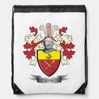 Kirk-Familienwappen-Wappen Turnbeutel