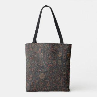 Kirman Blumenteppich-Tasche Tasche