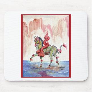 Kir'rin Ki'lin Drache-Einhorn-Fee-Pferd Mousepad