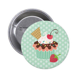 Kirsch-u. Minzen-kleiner Kuchen Buttons
