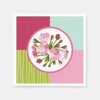 Kirschbaum-Blumen Papierservietten