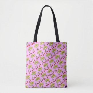 KirschBlumen-Muster-Entwurf Tasche