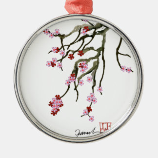 Kirschblüte 12 Tony Fernandes Silbernes Ornament