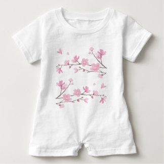 Kirschblüte Baby Strampler