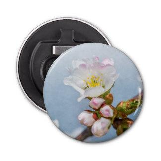 Kirschblüte-Blüte Runder Flaschenöffner