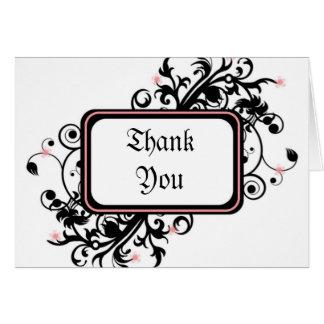 Kirschblüte danken Ihnen Karte