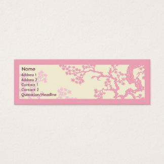 Kirschblüte - dünn mini visitenkarte