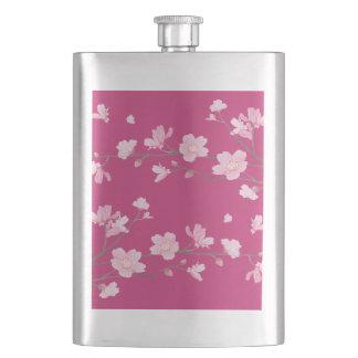 Kirschblüte Flachmann