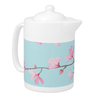 Kirschblüte - Himmel-Blau