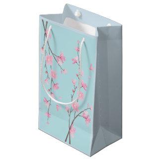 Kirschblüte - Himmel-Blau Kleine Geschenktüte