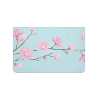 Kirschblüte - Himmel-Blau Taschennotizbuch