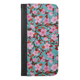 Kirschblüte iPhone 6/6s Plus Geldbeutel Hülle