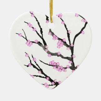 Kirschblüte-Kirschblüte 21, Tony Fernandes Keramik Ornament