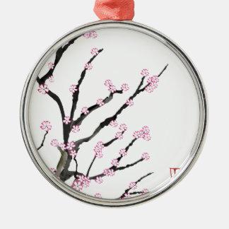 Kirschblüte-Kirschblüte 23, Tony Fernandes Silbernes Ornament