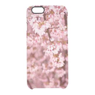 Kirschblüte-Kirschblüte Durchsichtige iPhone 6/6S Hülle