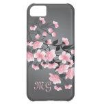 Kirschblüte (Kirschblüte) Monogramm iPhone 5C Hüllen