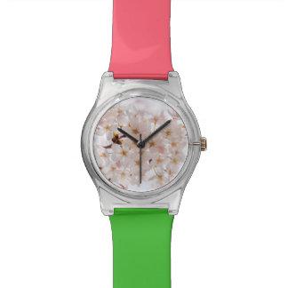 Kirschblüte-Kirschblüte Uhr