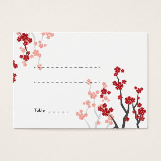 Kirschblüte-Kirschblüten-asiatische Visitenkarte