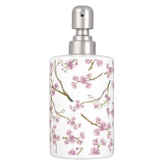 Kirschblüte-Kirschblüten-Druck Badset