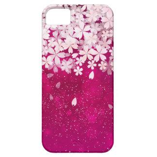 Kirschblüte-Kirschblüten pinkfarben u. weiße iPhone 5 Hülle