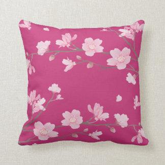 Kirschblüte - Magenta Kissen