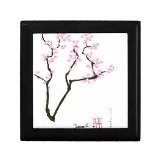 Kirschblüte mit rosa Goldfisch, tony fernandes Schmuckschachtel