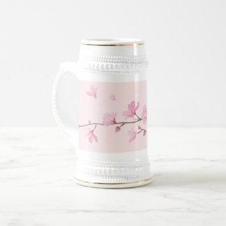 Kirschblüte - Rosa Bierglas