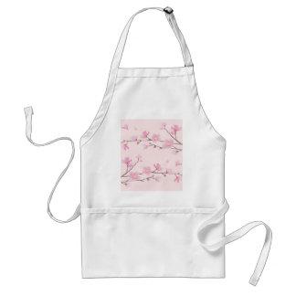 Kirschblüte - Rosa Schürze