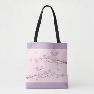 Kirschblüte - Rosa Tasche