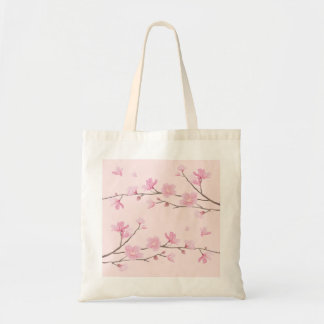Kirschblüte - Rosa Tragetasche