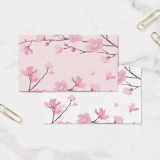 Kirschblüte - Rosa Visitenkarte