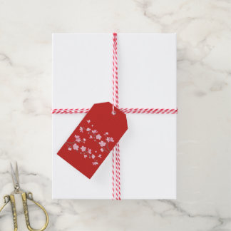Kirschblüte - Rot Geschenkanhänger