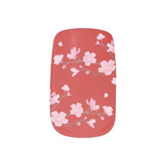 Kirschblüte - Rot Minx Nagelkunst