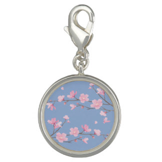 Kirschblüte - Ruhe-Blau Charm