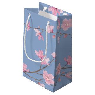 Kirschblüte - Ruhe-Blau Kleine Geschenktüte