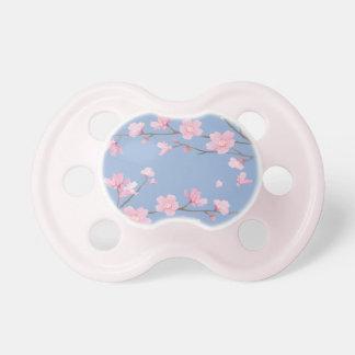 Kirschblüte - Ruhe-Blau Schnuller