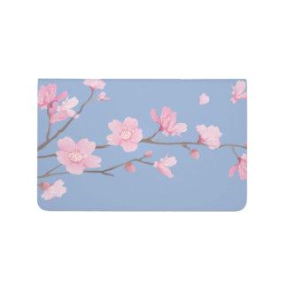 Kirschblüte - Ruhe-Blau Taschennotizbuch