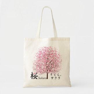 Kirschblüte Tragetasche