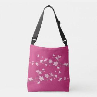 Kirschblüte Tragetaschen Mit Langen Trägern
