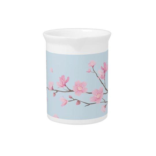 Kirschblüte - Transparent-Hintergrund Krug