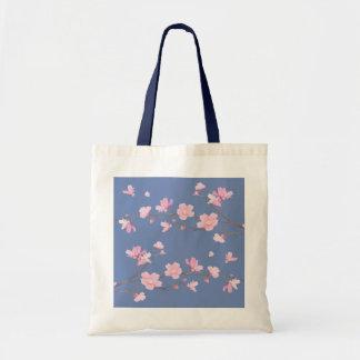 Kirschblüte - Transparent-Hintergrund Tragetasche
