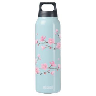 Kirschblüte - transparent isolierte flasche
