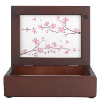 Kirschblüte - transparenter Hintergrund Erinnerungsdose