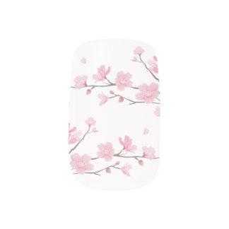 Kirschblüte - transparenter Hintergrund Minx Nagelkunst