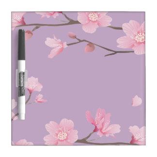 Kirschblüte Trockenlöschtafel